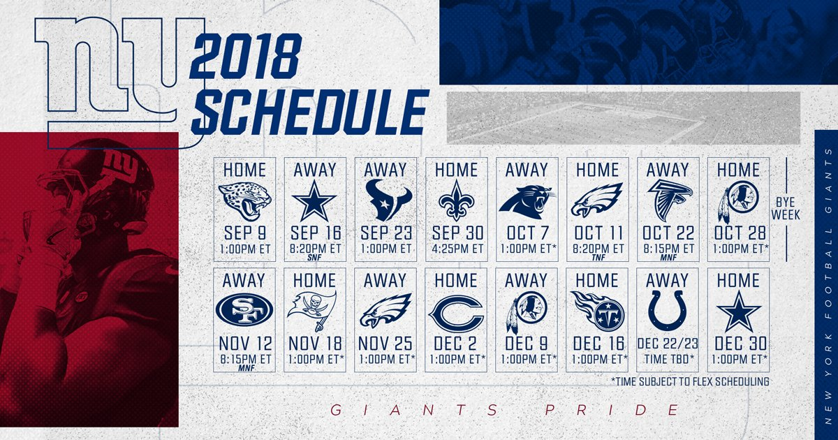 giants schedule